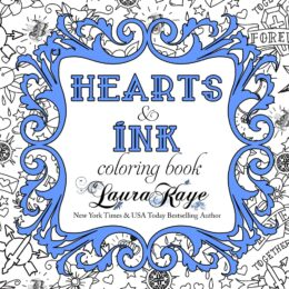 Hearts and Ink Coloring Book