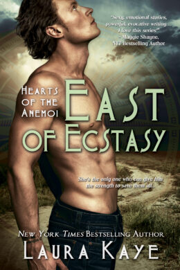 East of Ecstasy Book Cover 1