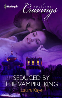 Seduced by the Vampire King Book Cover 2