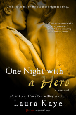 A Night With a Hero Book Cover