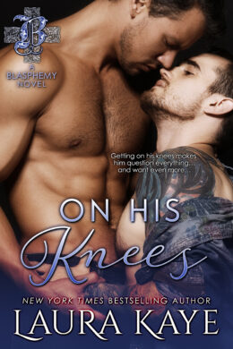 On His Knees Book Cover 1