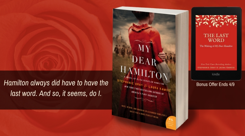 Win a kindle ebook of my dear hamilton laura kaye hello friends my second historical novel as laura kamoie is out in about two weeks and i wanted to drop a quick note to share that our publisher is giving fandeluxe Choice Image