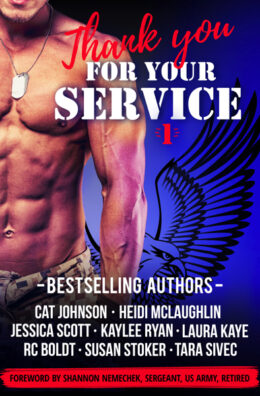 Thank You for Your Service Book Cover 1