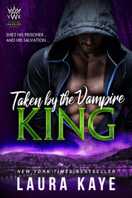 Taken by the Vampire Book Cover 1